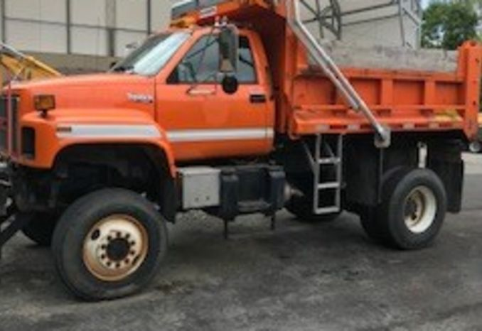1994 GMC 4X4 Dump Truck