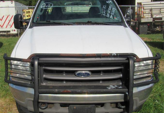 2004 Ford F250 4X4-DSS2266