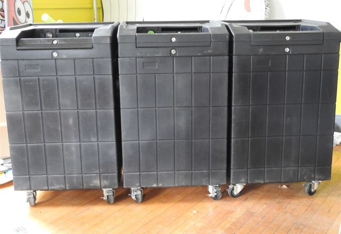 Ballot Boxes for Accuvote Tabulating Machines