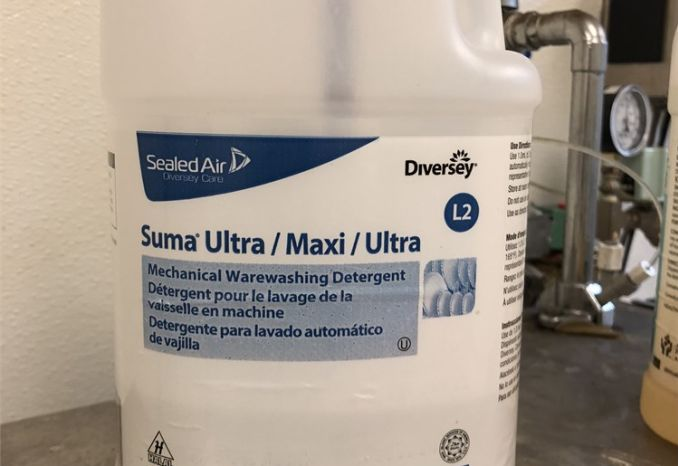 Suma Ultra: Mechanical Ware washing Detergent