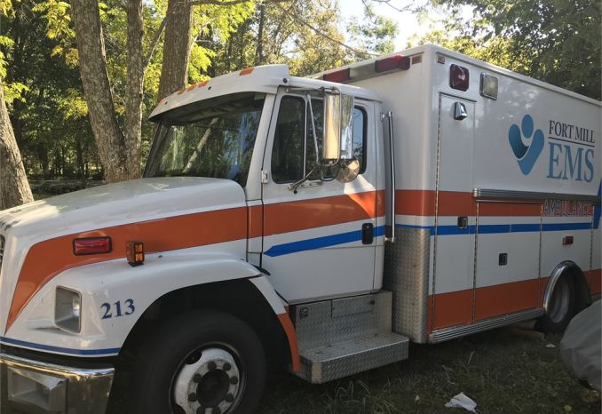 1999 Freightliner FL-60 Lifeline Ambulance - Retired
