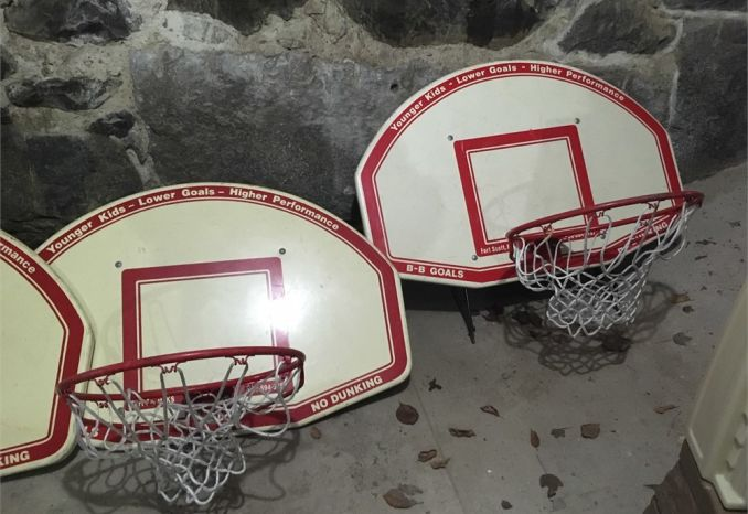 Basketball net and Backboard/ each sold seperately