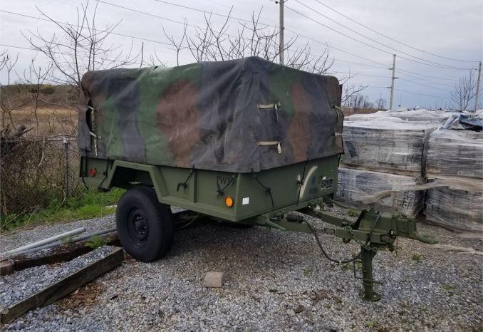 Military 3/4 Ton Cargo Trailer
