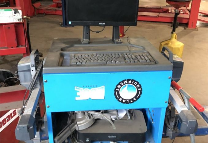 Atlas Wheel Alignment Machine (Unused)