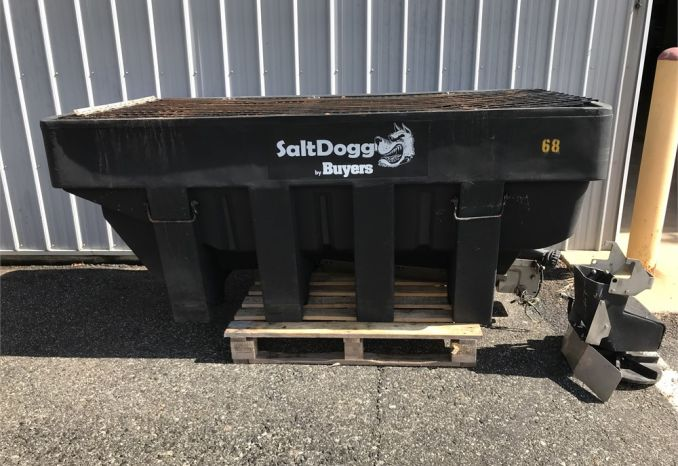 2011 SaltDogg Poly Salt Box & Spreader - 2 Yd
