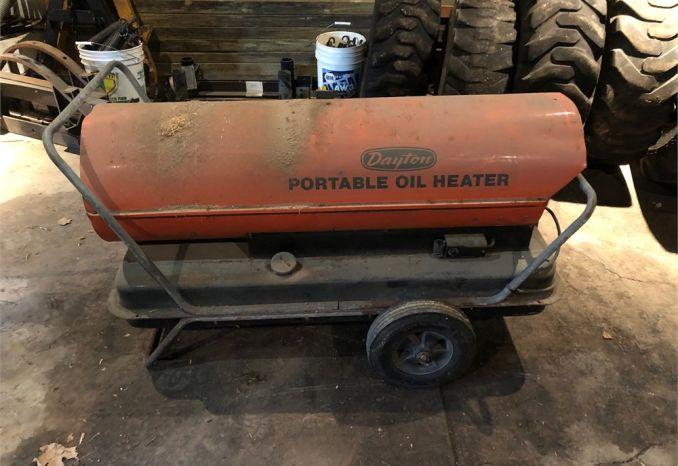 Dayton Kerosene Torpedo Heater