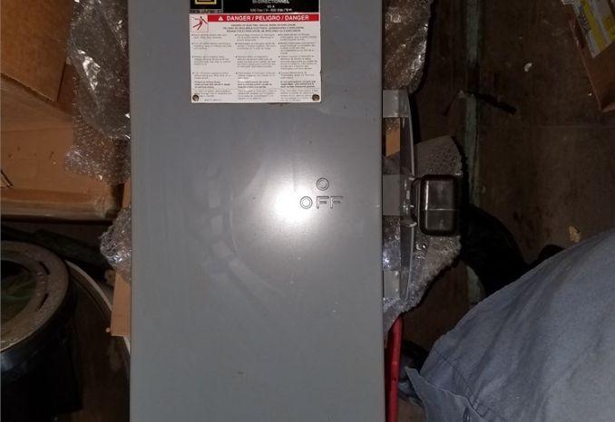 Square D 60 amp 600 volt