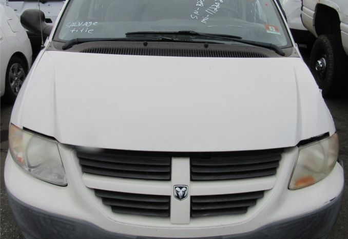 2007 Dodge Caravan-DSS2333