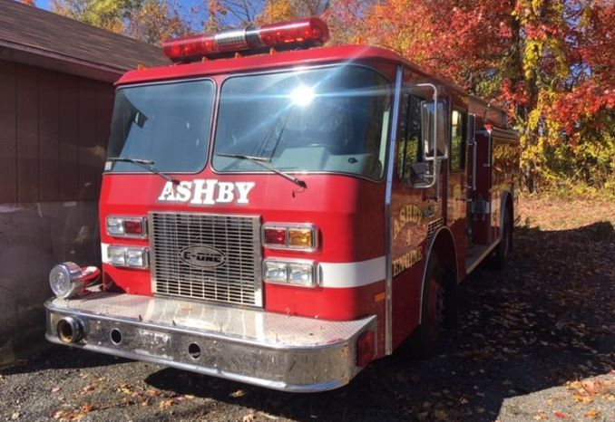 1991 E-ONE Fire Truck Cummings Motor, PUMP NOT FUNCTIONAL