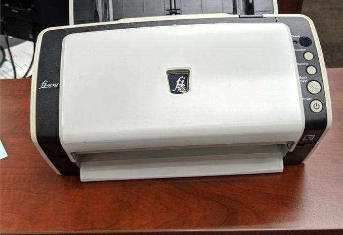 F1-6130Z  Fujitsu Scanner