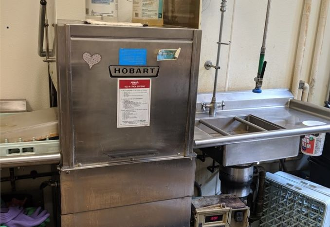 Industrial dish washer