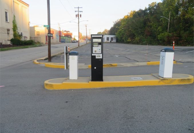 Parking lot Pay Kiosk