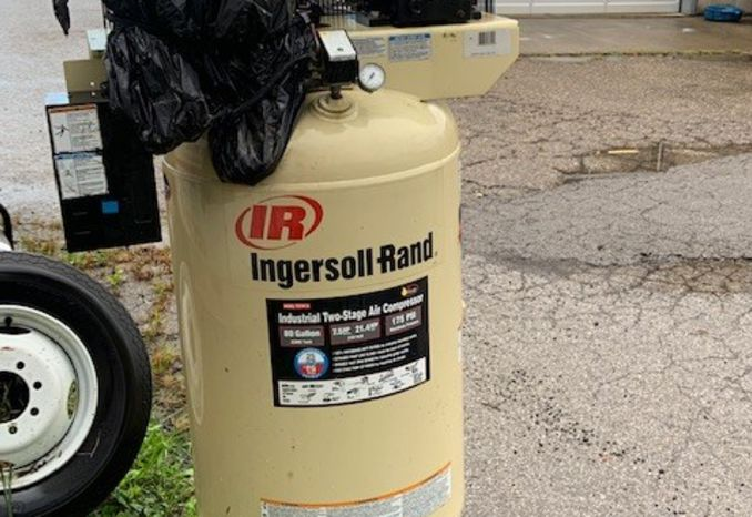 Ingersoll Rand Two Stage Air Compressor