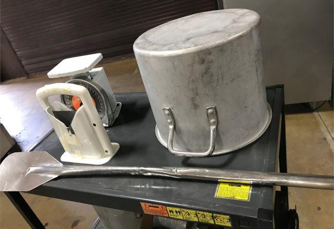 Assorted kitchen equipment