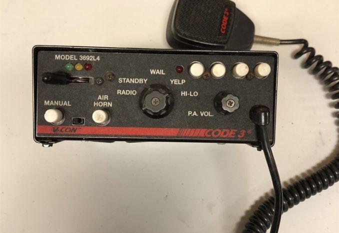 Code 3 Siren Controller