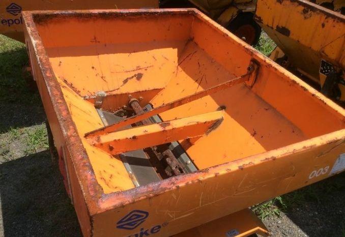 """12)Epoke Drop Sander wheel driven (Box 3'7""""x 3')  #003"""