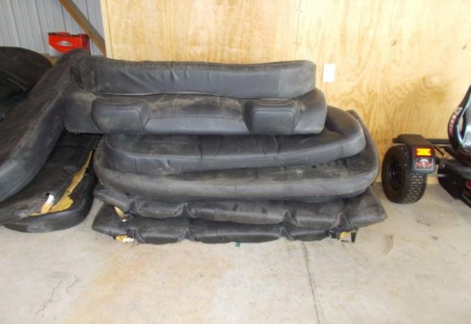 Lot of 3 sets of 2009-2010 Dodge Charger Rear Seats