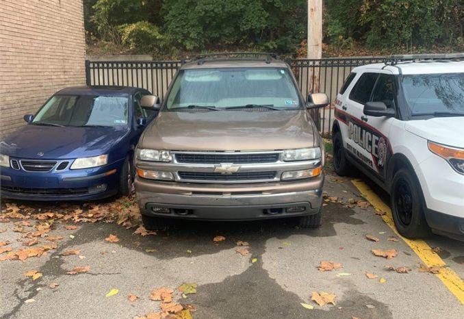 2004 Tahoe Police Seizure