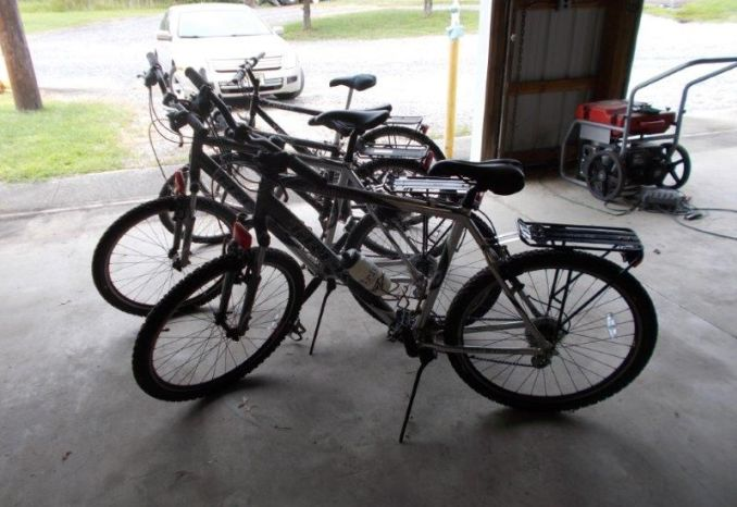 Trek 21 and 24 speed mountain bikes