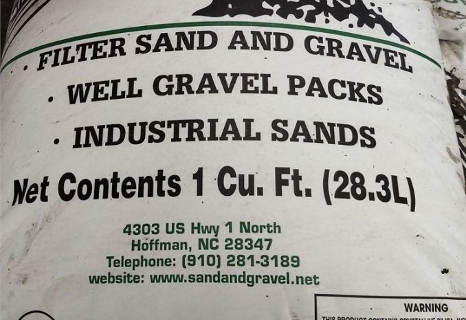 Partial Skid of Sand