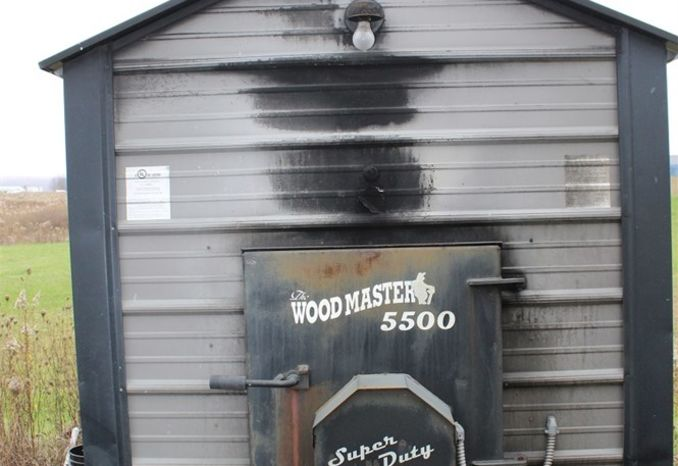 WoodMaster 5500 Wood Fired Boiler