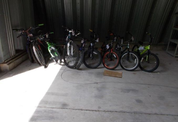 Lot of 10 Bicycles