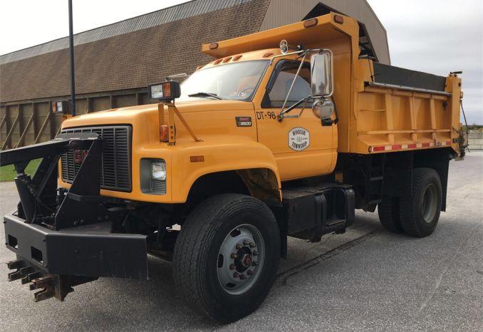 1998 GMC Topkick C8500 Dump Truck