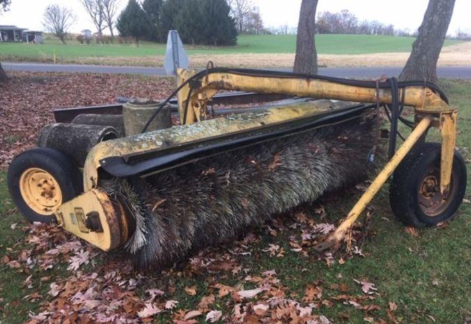 MB Tow Behind Broom