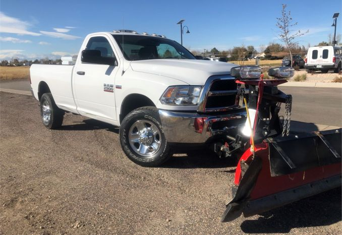 2015 Dodge Ram 2500 Snow Plow