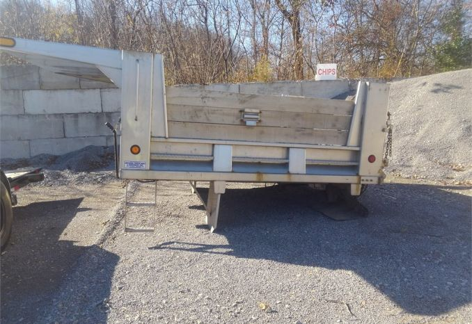 2009 Stainless Steel Dump Bed