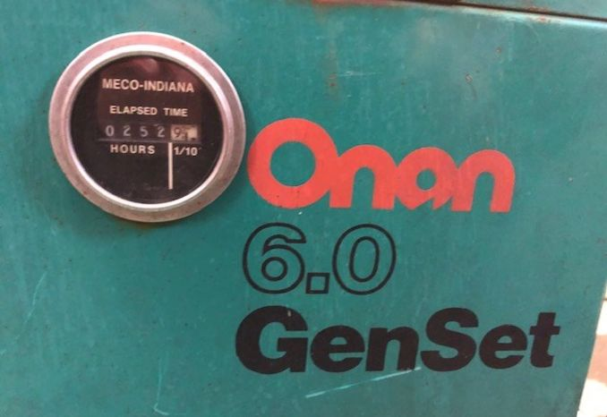 Onan 6KW Diesel Generator