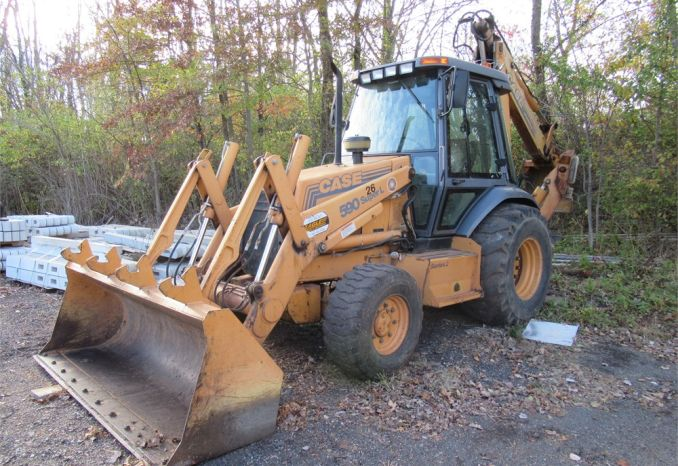 2000 Case 590 Backhoe