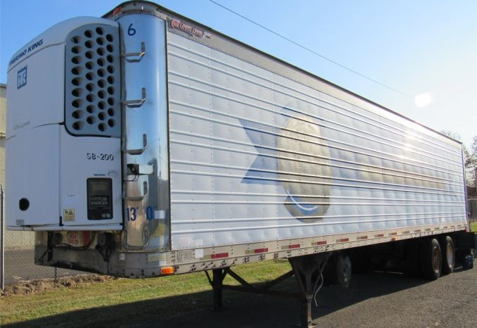 1992 Great Dane Refrigerated Trailer-DSS2383