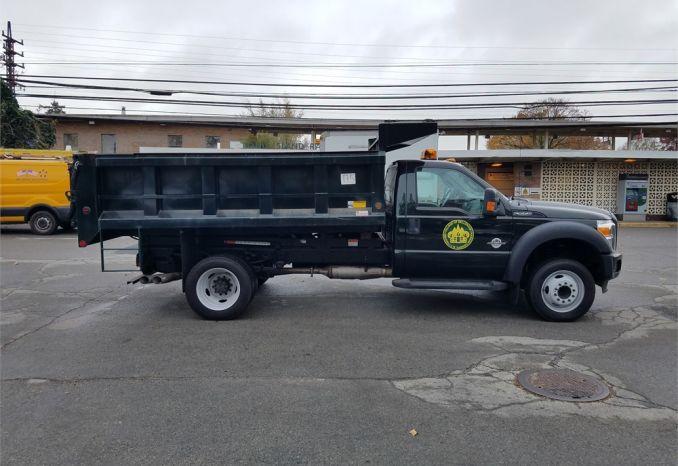 2014 Ford F-550 Dump Truck