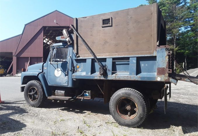 1983 International Dump Truck with Chip Box