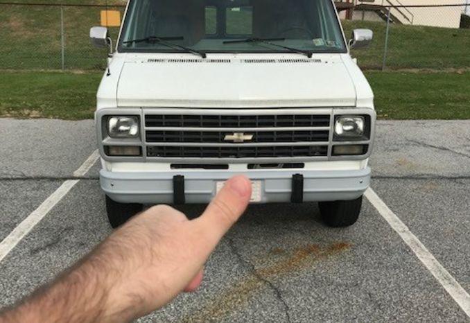 Chevy van 30
