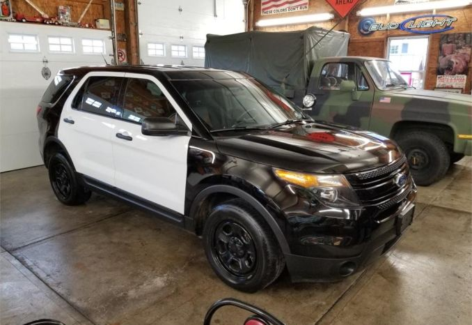 2015 Ford Utility Police Interceptor/Utility 4D Police AWD
