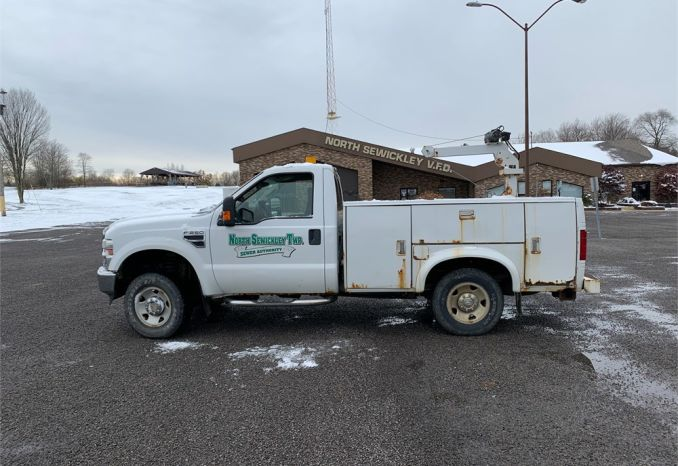 2008 Ford F250 with Utility Body