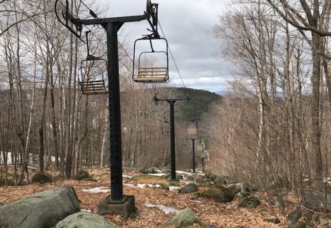 1962 Roebling (Duckling) Double Chairlift System - Mount Sunapee