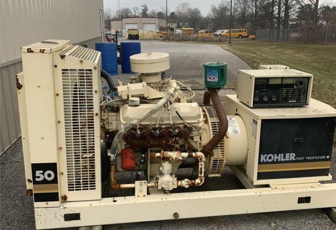 50 KW Kohler generator
