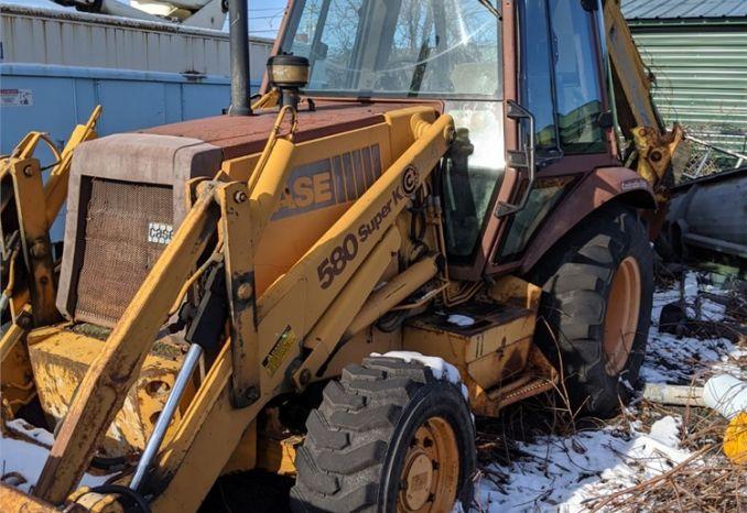 91' Case 580 SK Backhoe