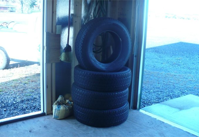 4 NEW TAKE OFF Truck Tires