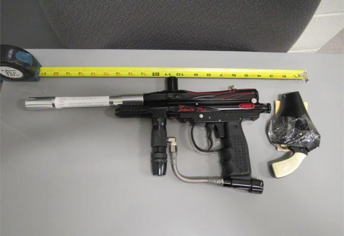Paintball & starter gun