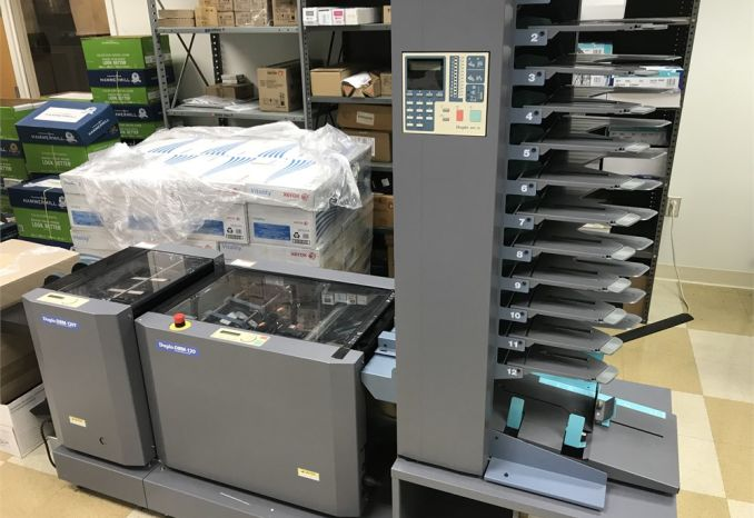 Duplo Booklet Maker DBM-120, Trimmer DBM-120T & Collator DFC-12