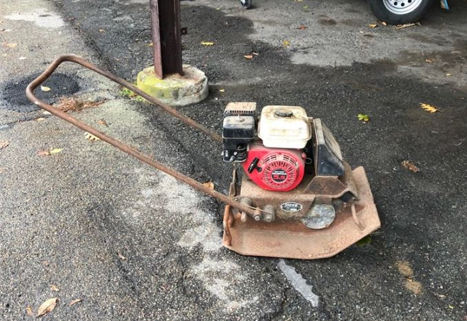 2 Used Plate Compactors with Honda Engines