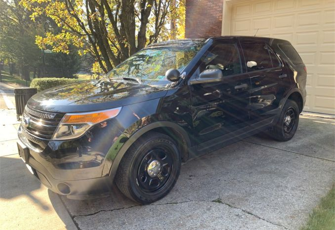 2013 FORD POLICE INTERCEPTOR UTILITY SUV EXPLORER