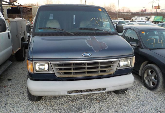 1995 FORD E150 CARGO VAN / LOT746-540085-R