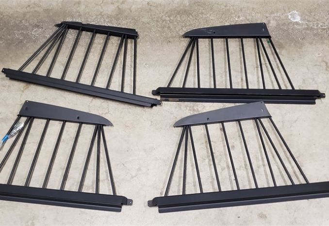 Crown Vic Rear Cage Bars