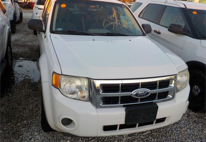 2008 FORD ESCAPE 4X4 SUV / LOT727-085337-R