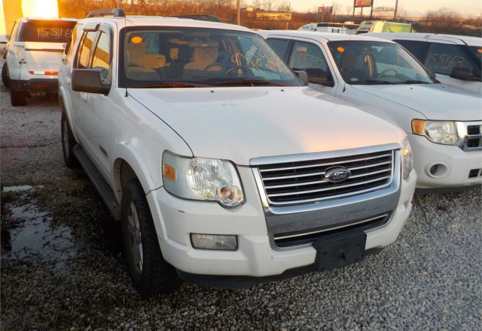 2008 FORD EXPLORER XLT 4X2 SUV / LOT726-080099-R